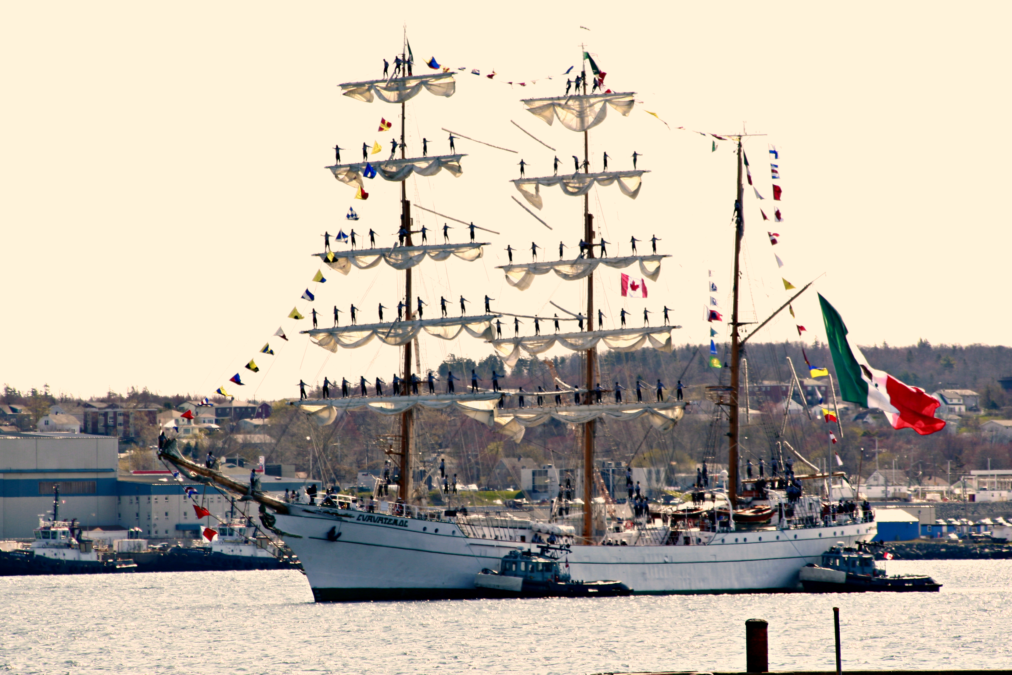 Mexican Navy Barque ARM CUAUHTEMOC has arrived | Halifax