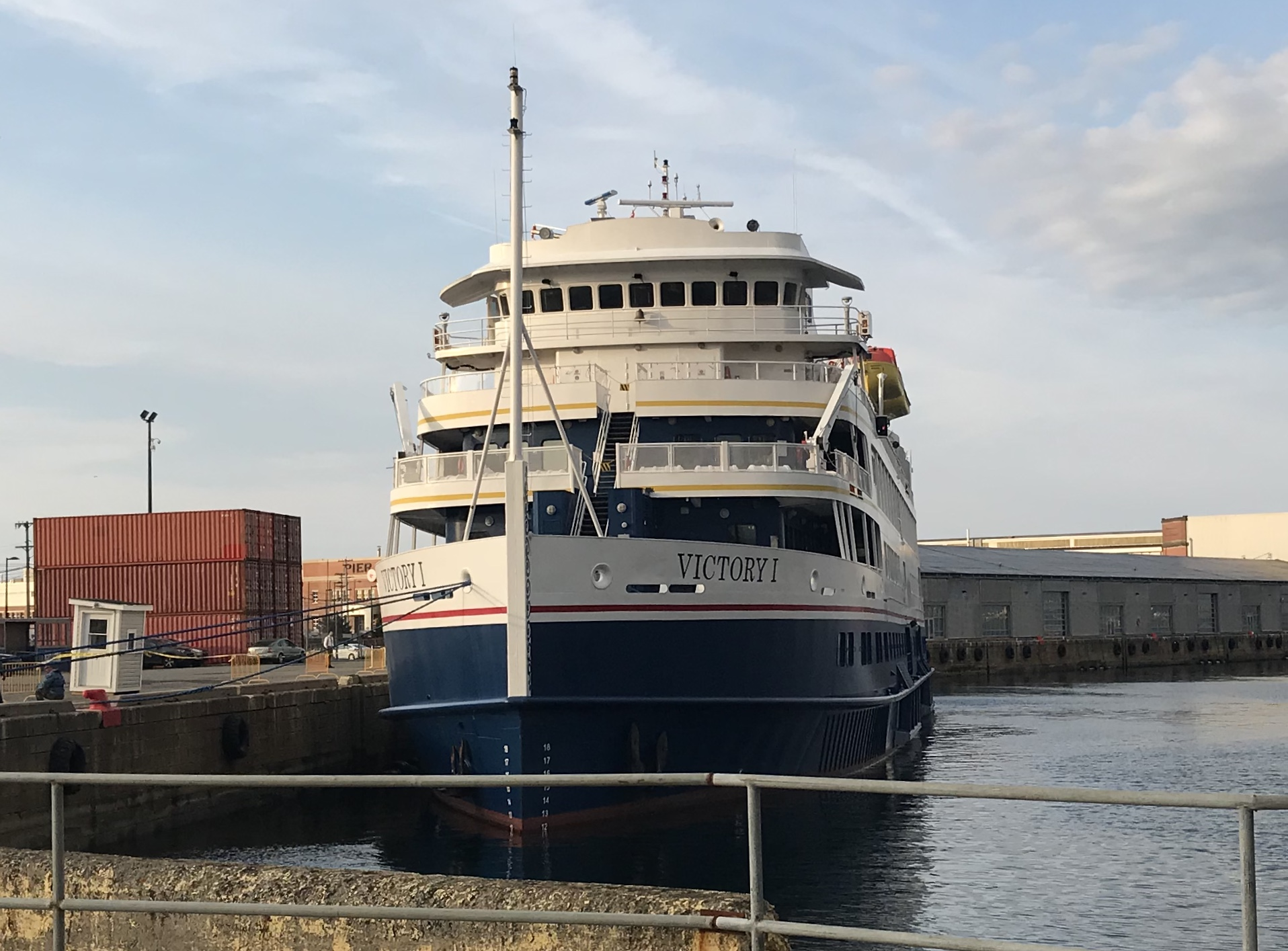 Halifax shipping comings and goings in halifax for High end cruise lines
